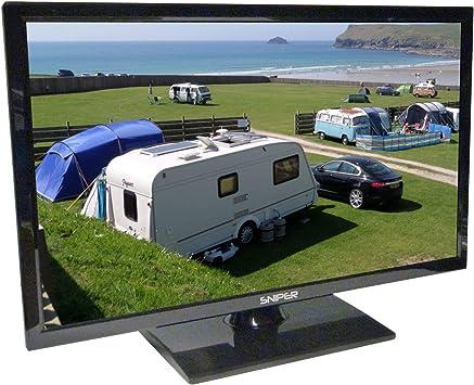 Televisión LED HD de 19 pulgadas lista para viajes con reproductor ...