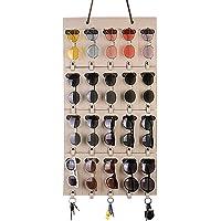 Ruizhixuan منظم النظارات الشمسية التخزين، حامل النظارات القابل للفصل تعليق الجدار ، شماعات الجيب لباد النظارات مع حلقات…