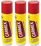 Carmex Classic Lippenbalsam Stick (LSF 15), 3er Pack (3 x 4 g)