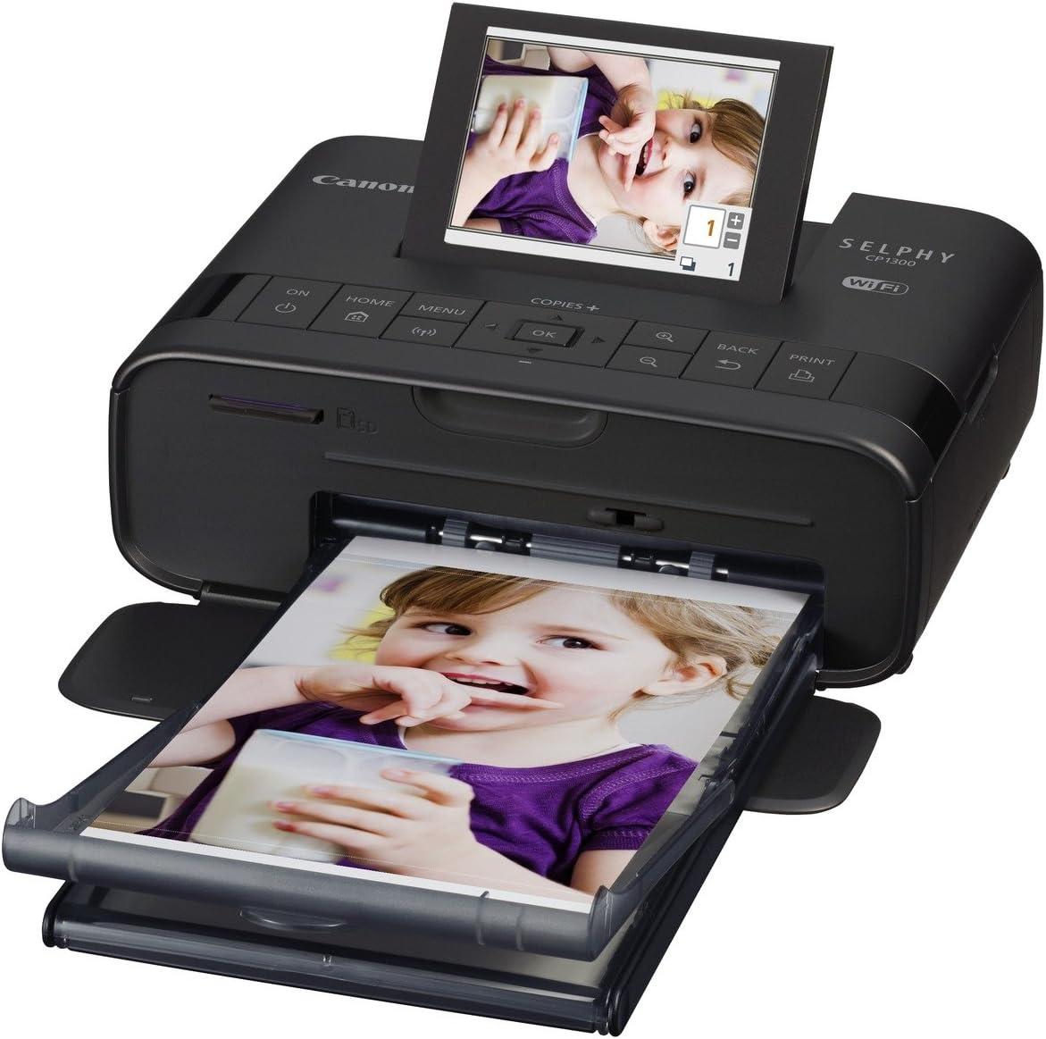 Canon Selphy CP1300 - Impresora fotográfica inalámbrica