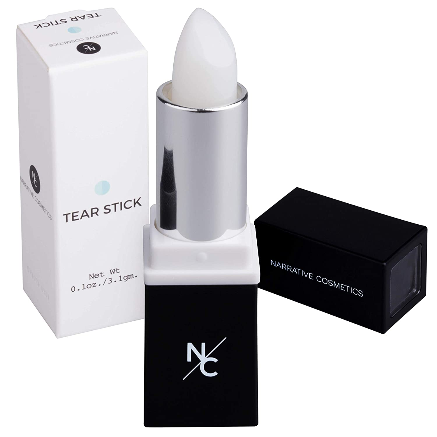 Narrative Cosmetics Menthol Infused Tear Stick for Film and Theater - Perfect for Creating Natural Tears - Cry on Cue