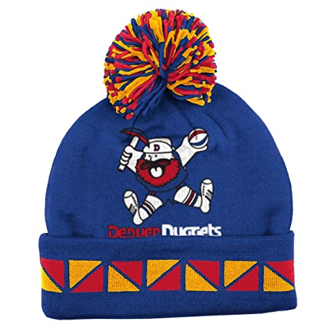 0e4262d0e Denver Nuggets Mitchell   Ness NBA Throwback  quot 2 Face quot  Cuffed Knit  Hat w