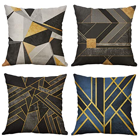 Amazon.com: MIULEE Print Series - Funda de cojín decorativa ...