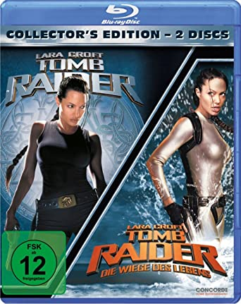 Tomb Raider 1+2 [Alemania] [Blu-ray]: Amazon.es: Jolie, Angelina ...