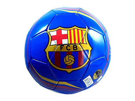 Rhinox FC Barcelona Fútbol Oficial tamaño balón de fútbol (SZ. 5 ...
