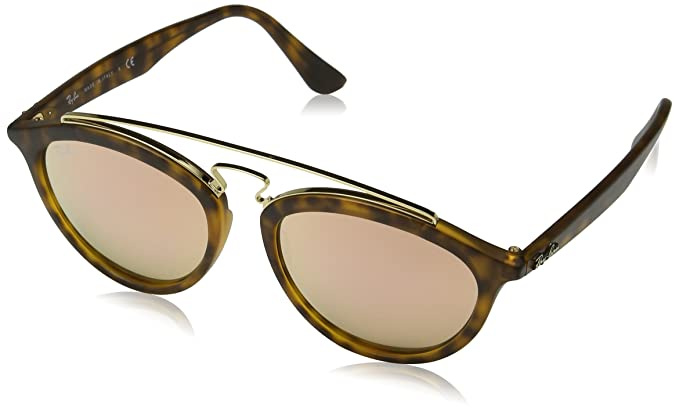 Ray-Ban Model: 4257 Gafas de sol, Matte Havana, 53 para Mujer