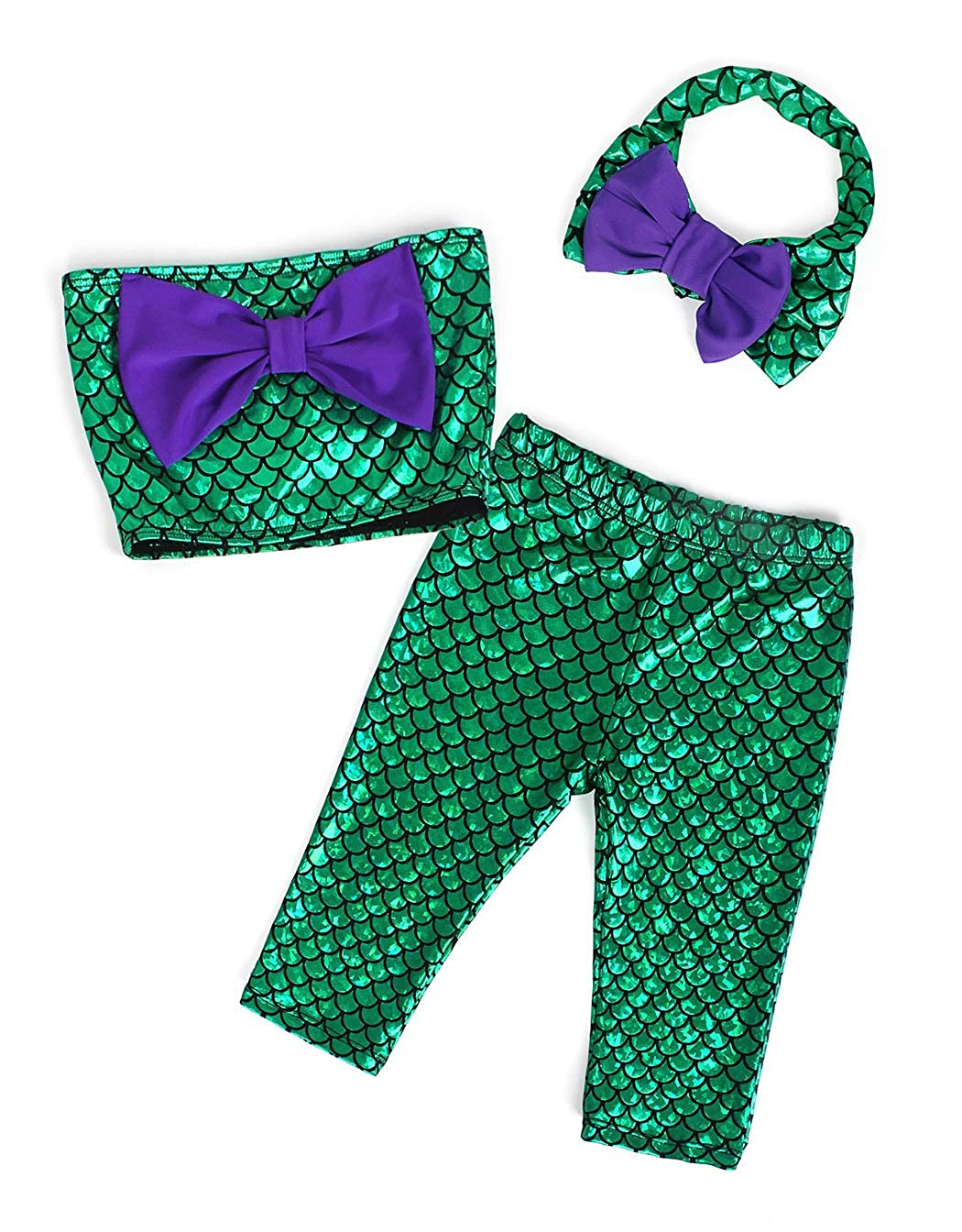 AmzBarley Princess Mermaid Costume for Girls Fancy Party Sequins Dress