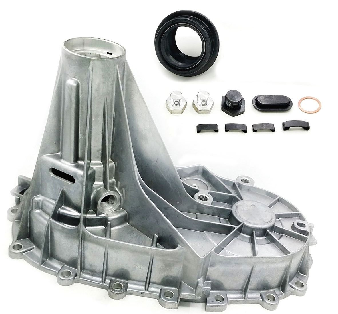 Rear Transfer Case Housing Kit w/ Rear Output/ Tail Shaft Seal For Cadillac, Chevrolet, And GMC Trucks Improved Design Eliminates Pump Rub Replaces OE#s 12473226 12474949