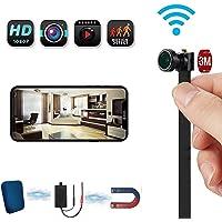 Video De La Cámara Espía Wifi 4K, Detección De Movimiento Con Cámara De Niñera Oculta, Cámara Flexible Inalámbrica Pequeña 4-6 Horas De Trabajo, Para El Sistema De Seguridad Residencial