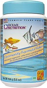 Ocean Nutrition Community Formula Flakes 5.5-Ounces (154 Grams) Jar
