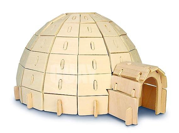 Quay Iglú artesanía en Madera Kit de construcción FSC: Amazon.es ...