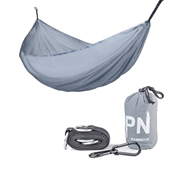 travel camping hammock professional grade ripstop parachute nylon strength  lightweight  pact  u0026 portable best amazon    travel camping hammock professional grade ripstop      rh   amazon