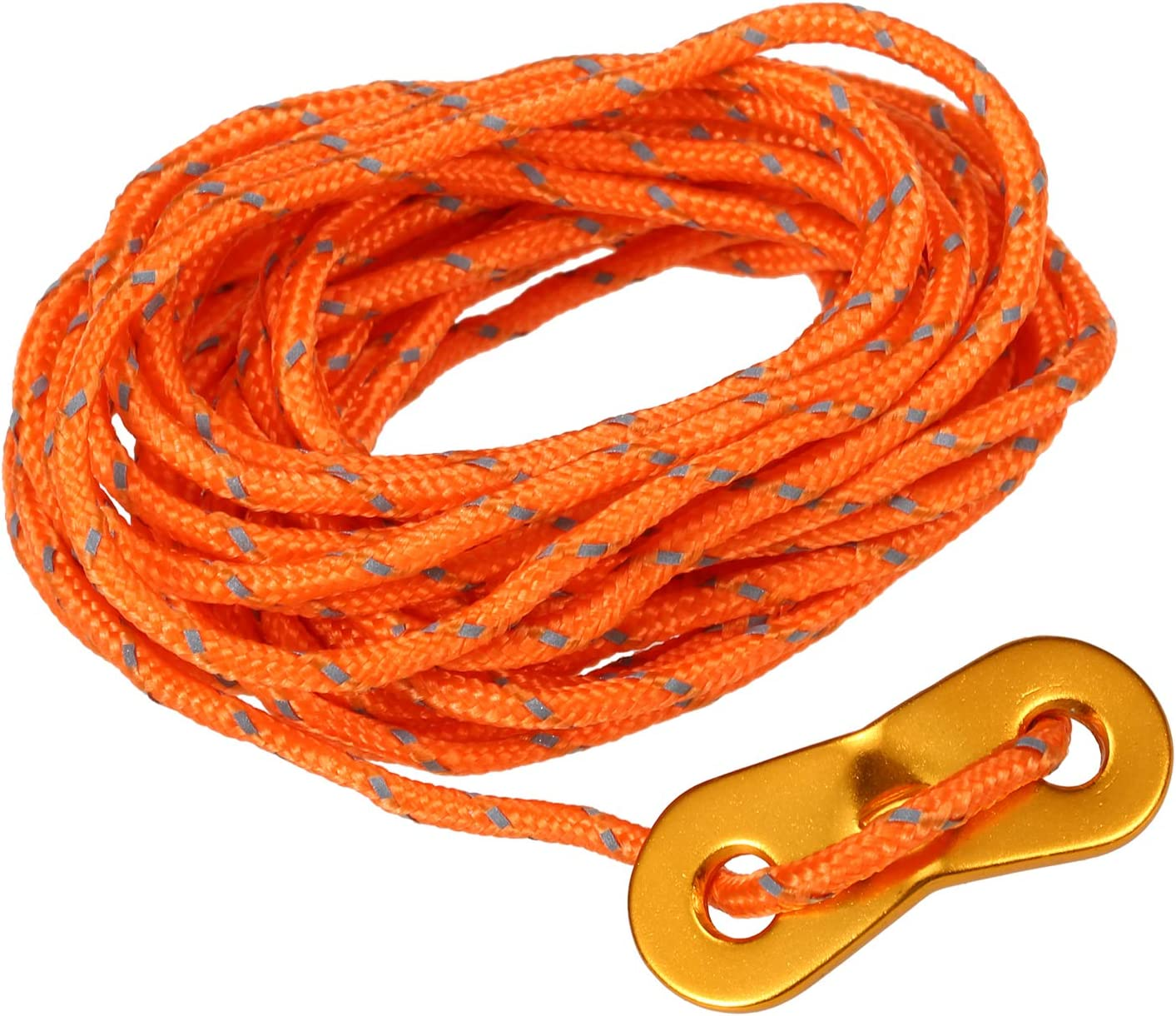 3mm 13ft Tent Cord Tensioner Set Reflective Rope with Adjuster Camping Canopy Tent Guyline Walmeck