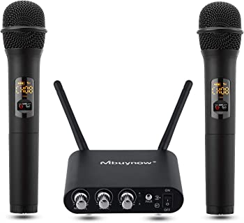 Mbuynow Dual UHF Wireless Microphone System