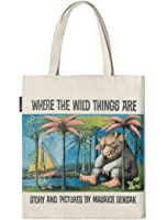 Out of Print Where the Wild Things Are Tote Bag, 15 X 17 Inches