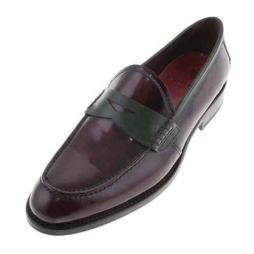 LORENS - Mocasines para mujer morado rojo burdeos: Amazon.es: Zapatos y complementos