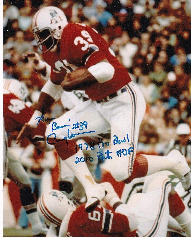 Autographed Sam Cunningham Photo - 1978 PRO BOWL 8x10 - Autographed NFL Photos Sports Memorabilia