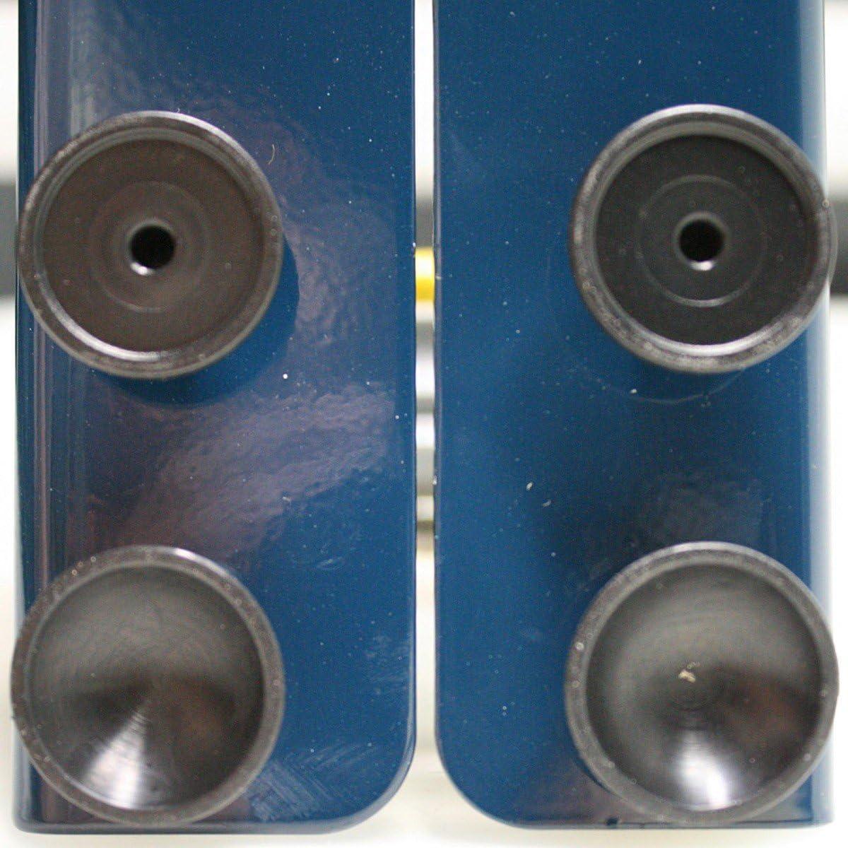 Te-Office Pose-Vignettes Labelspender Acier pour /Étiquettes Adh/ésives Appareil de Table Manuelle Jusqu/à 315 mm Incluant 4 Rollenteiler