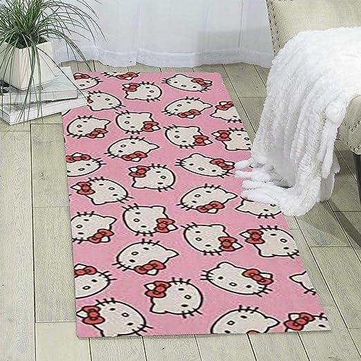 Amazon Com Lcx0d Carpet Trendy Pink Hello Kitty Design Indoor