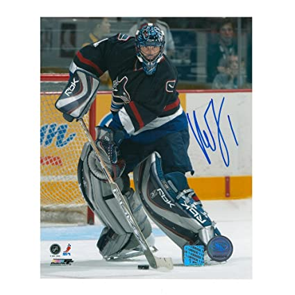 Roberto Luongo Vancouver Canucks 8 X 10 Autographed Photo At