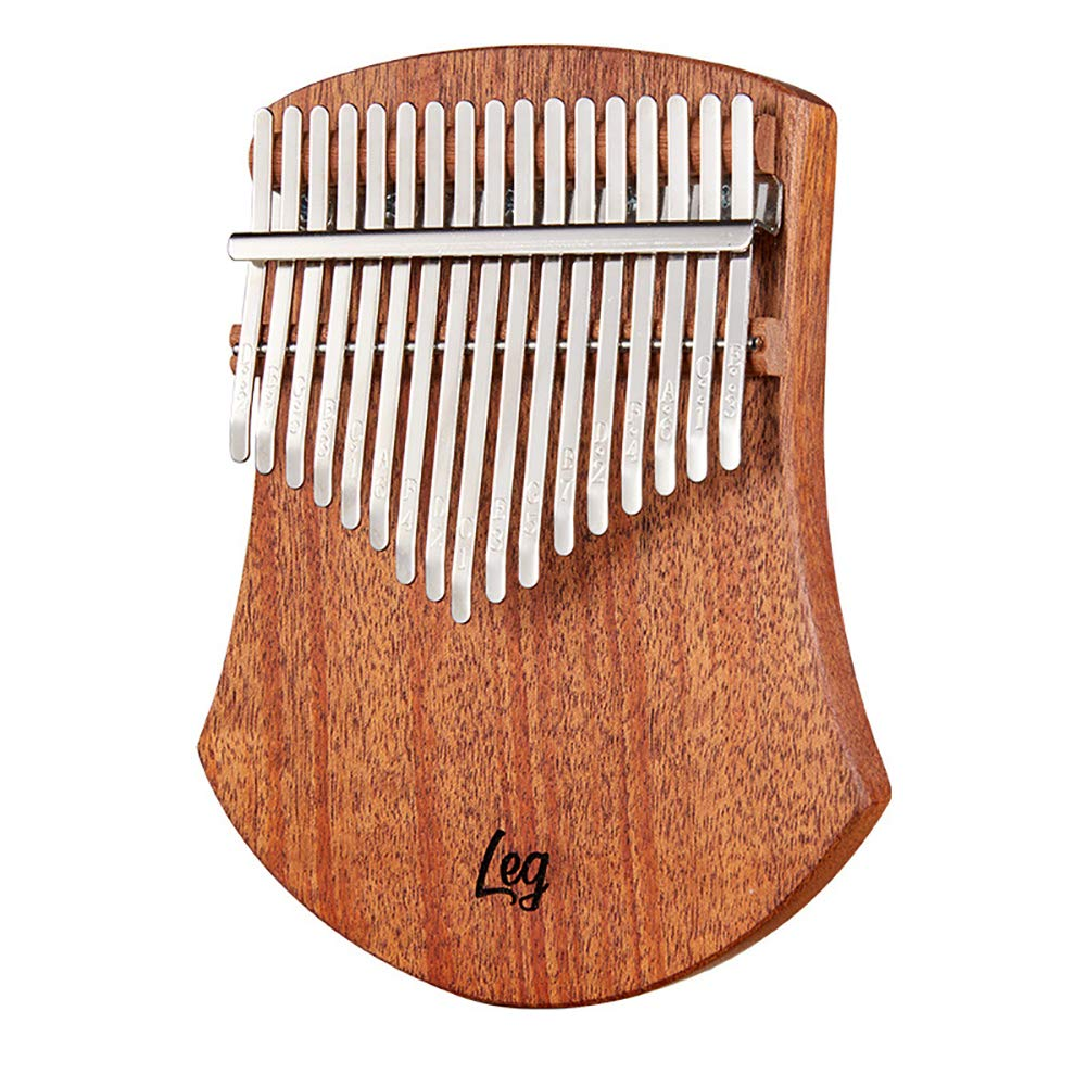 Yajun Kalimba 17 Keys Thumb Piano Fashion Profession Finger Marimbas Skirt Design Music Instrument for Child Beginner Unique Gift by Yajun
