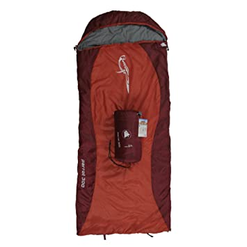 10T Outdoor Equipment 10T Parrot 300 Saco de Dormir de Manta, Infantil, Rojo,