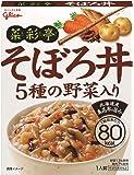 江崎グリコ 菜彩亭そぼろ丼 140g×10個