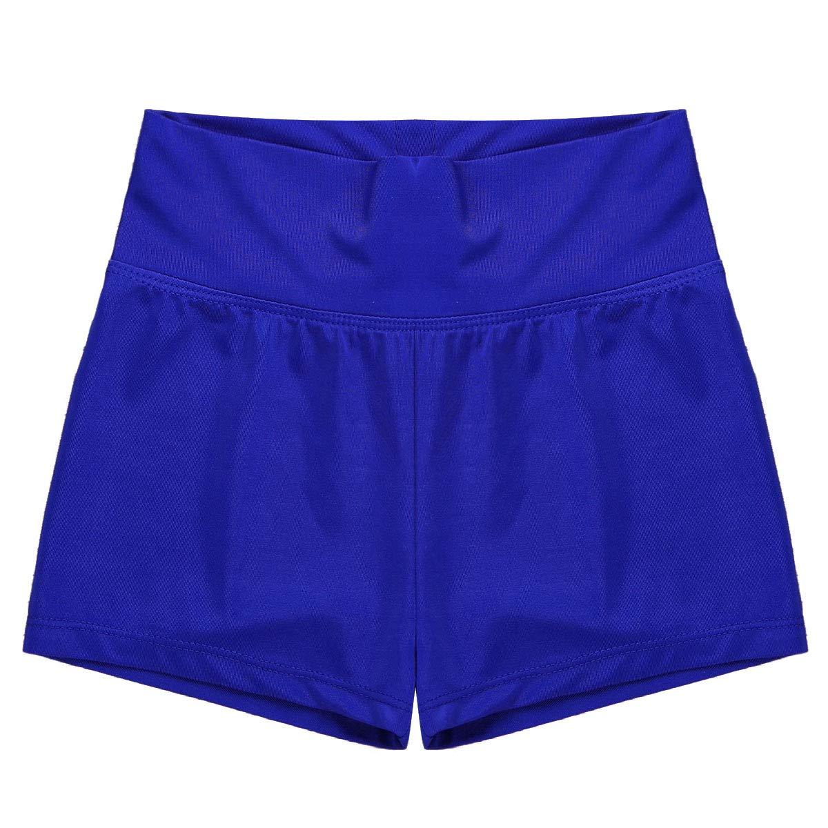 Freebily Enfant Shorts de Danse Ballet Taille Haute Shorts de Gymnastique Sports Yoga V/êtements de Sport Gym Filles Short de Bain 6-12 Ans