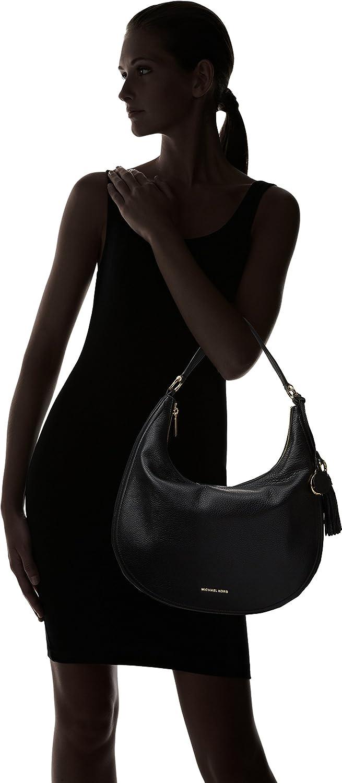 7c8d357f2c1f Amazon.com  Michael Kors Womens Lydia Shoulder Bag Black  (Black) 30F7GL0L3L  Michael Kors  Shoes