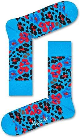 Happy Socks Men's Multi Leopard Sock