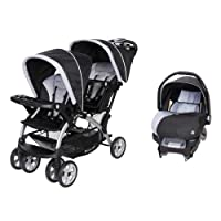 Deals on Baby Trend Sit N Stand Double Stroller + Infant Travel System
