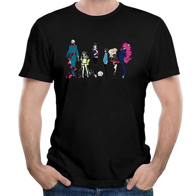 Amazon.com: ILONSE Mens Gatchaman Crowds T Shirts Black ...