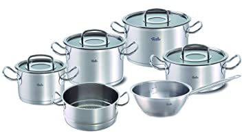 Fissler Topfset Original Profi Collection 6 Teilig Edelstahl