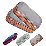 超便利旅行圧縮バッグ 圧縮トラベルバッグ 旅行便利グッズ スペース50%節約 衣類仕分け 簡単圧縮 1年間品質保証