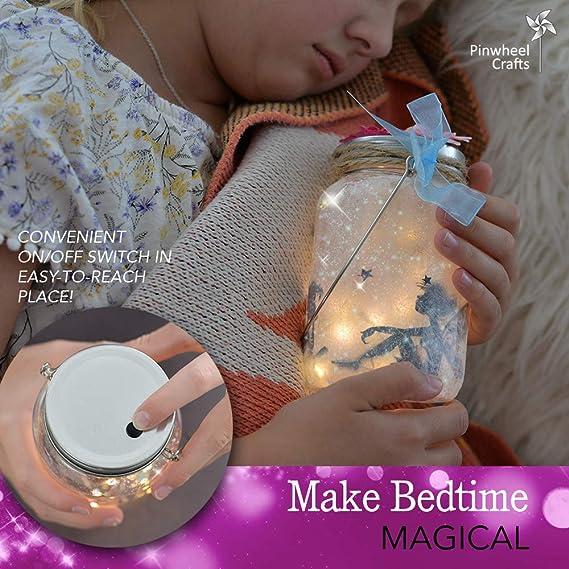 Amazon.com: Kit de hadas para niñas – Haga su propia hada en ...