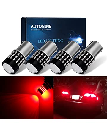 AUTOGINE 4 X Super Bright 9-30V 1156 1003 1141 7506 BA15S LED Bulbs 3014