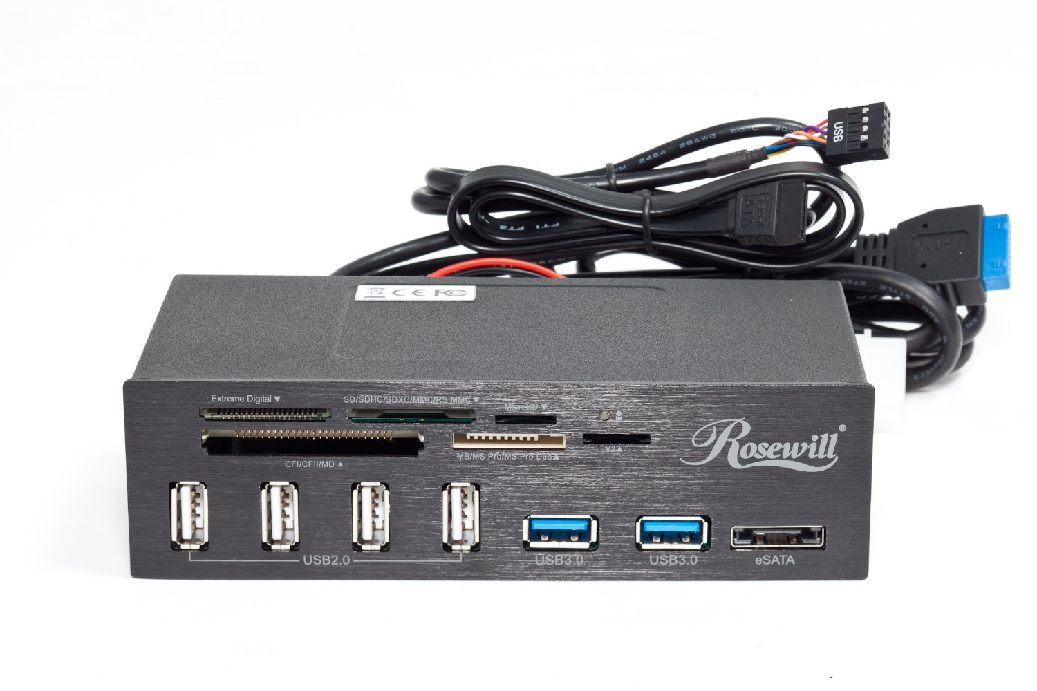 Front Dual Port Usb Wiring Diagram Manual E Books 2 0 Wire Libraryamazon Com Rosewill 3 4