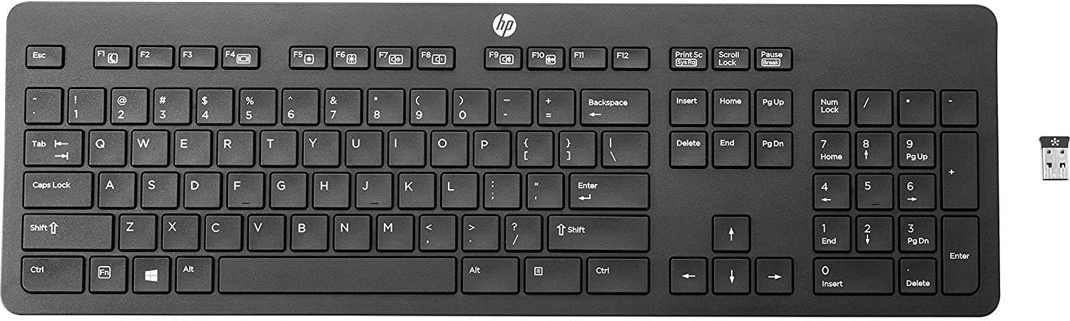 HP Business T6U20UT#ABA Wireless Link-5 Keyboard