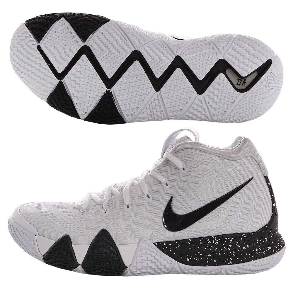 innovative design a0863 32c1a Nike Kyrie 4 Mens Basketball Shoes White/Black 11 M US