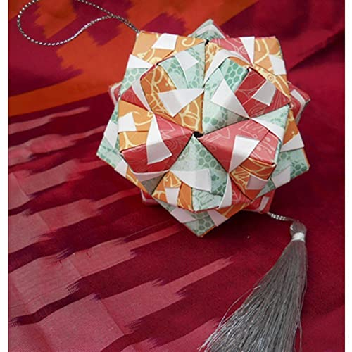 Amazon Hand Folded Paper Origami Ball Christmas Ornament Car