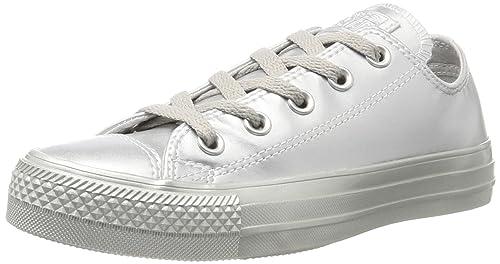 Unisex Converse Silver Silver Silver Chuck Taylor All Star