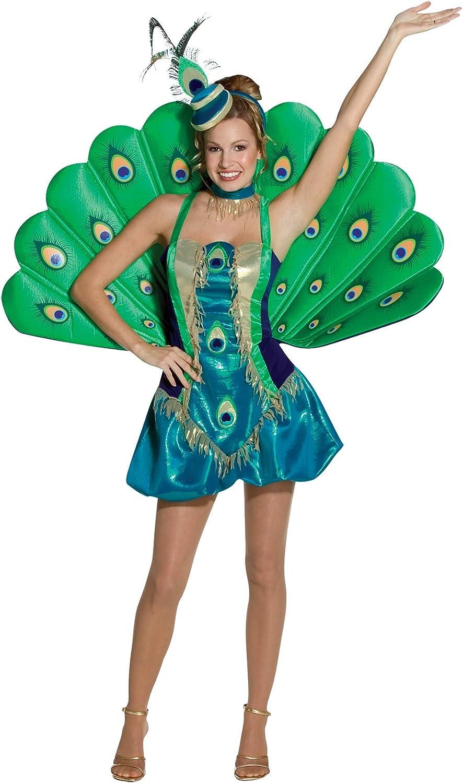 Generique - Disfraz Pavo Real para Mujer: Amazon.es: Juguetes y juegos