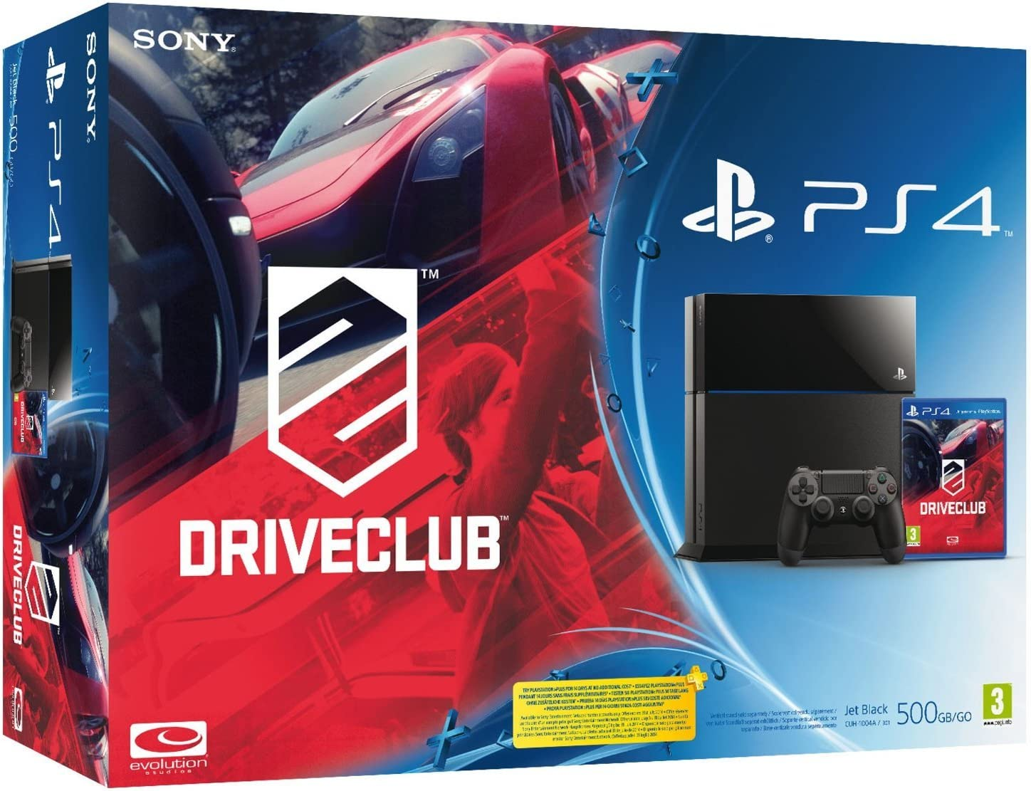 Sony PS4 500GB B Chassis, DRIVECLUB - juegos de PC (DRIVECLUB ...