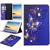 Tablet Case for Samsung Galaxy Tab A 10.1 - Premium Leather Folio Case Cover for Samsung Galaxy Tab A 10.1 with Card Slots