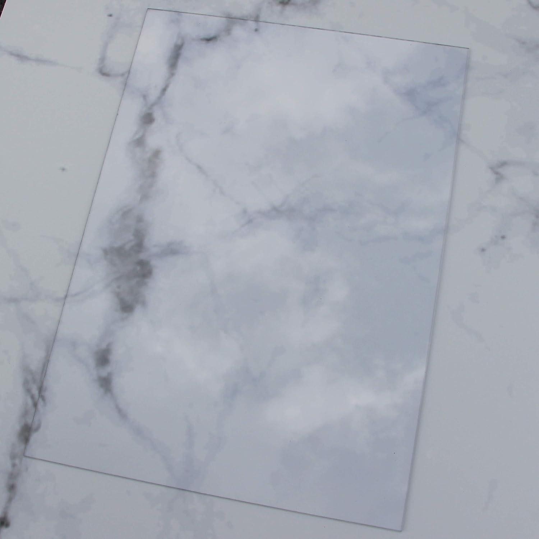 5 pi/èces polycarbonate de tailles et de quantit/és diff/érentes A3 42x30cm 1,8mm /épaisseur Plaques PC incolores et r/ésistantes /à la rupture avec un film protecteur sur les deux faces