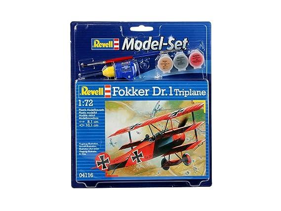 Fokker Revell Echelle 72 Modèle 64116 Dr1 1 Maquette Triplan XPwkiTOZu