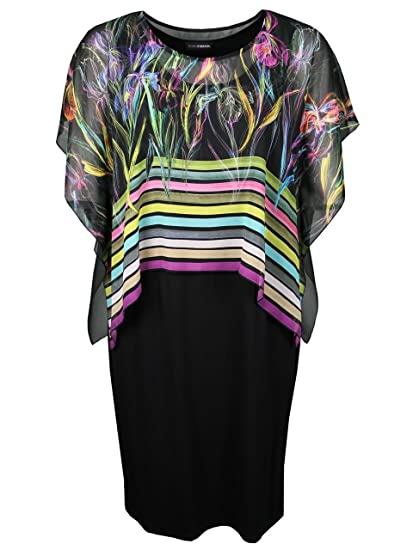 new style 01dba 15ad2 Doris Streich Women's Tulip Short Sleeve Dress