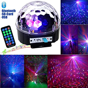 Image result for disco light with bluetooth speaker