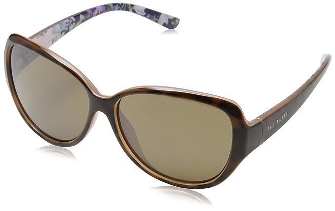 Sunglasses Womens Shay Sunglasses, Tort/Pink, 59 Ted Baker