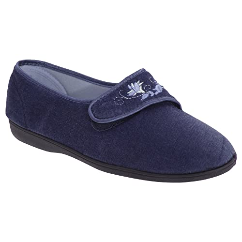 Sleepers Wilma - Chaussons en toile à sangle velcro - Femme 7dwuIzLL